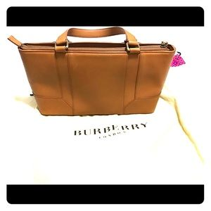 Burberry Smooth Grain leather hand bag